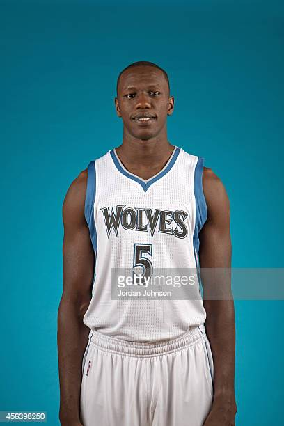 Gorgui Dieng of the Minnesota Timberwolves poses for a portrait during 2014 NBA Media Day on September 29 2014 at the Minnesota Timberwolves and Lynx...