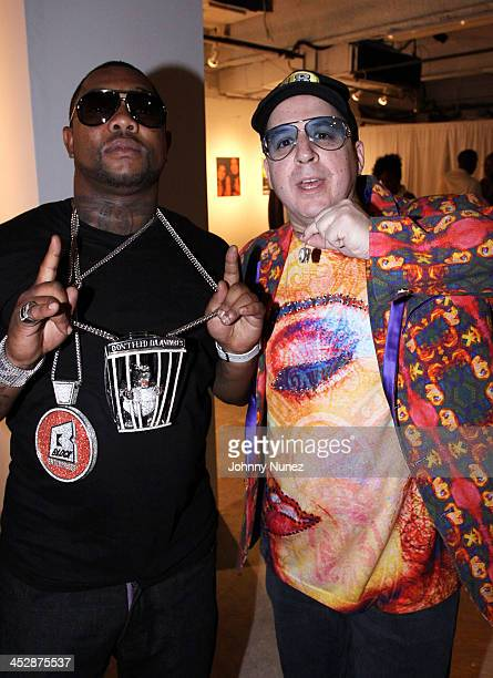 Gorilla Zoe and Noah G Pop attend the Rocawear 10th anniversary party at Rocawear on September 10 2009 in New York City