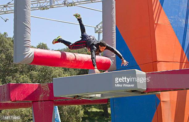 WIPEOUT 'Gorillas in our Midst' 'Wipeout' 24 contestants take on the allnew Monkey Business which proves that you never know what big dirty ape might...