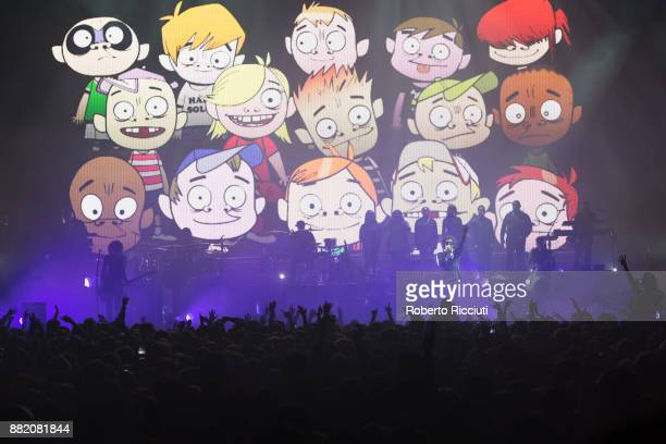 Gorillaz perform at The SSE Hydro on November 29 2017 in Glasgow Scotland