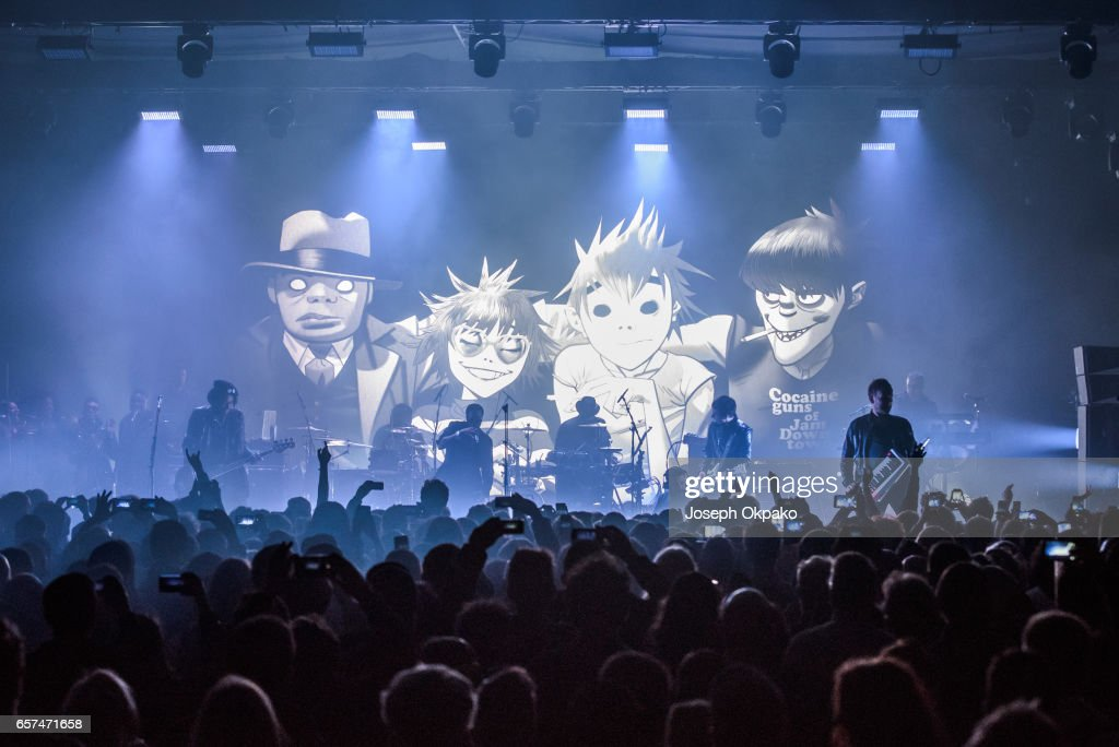 Gorillaz Perform New Album Live At A Secret London Location
