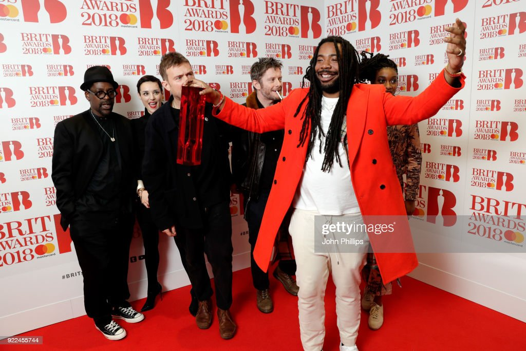 The BRIT Awards 2018 - Winners Room : News Photo