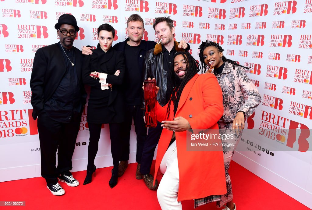 Brit Awards 2018 - Press Room - London