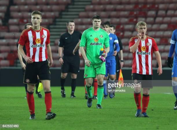 Gorka Guruzeta of Bilbao during the Premier League International Cup Quarter Final match between Sunderland U23 and Athletic Bilbao U23 at the...