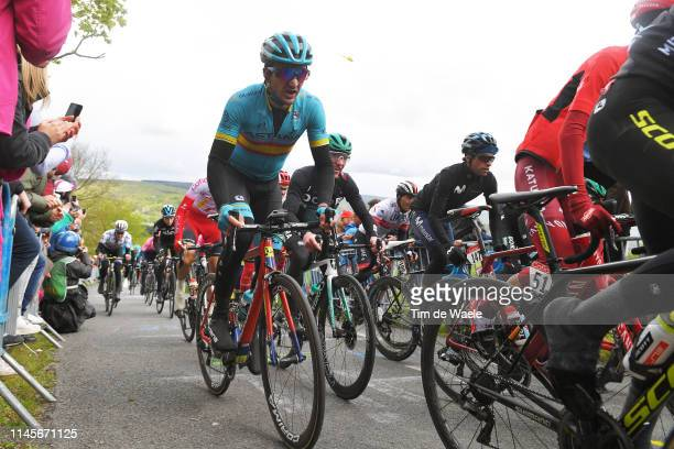 Gorka Izagirre Insausti of Spain and Astana Pro Team / Côte de La Redoute / during the 105th Liege - Bastogne - Liege 2019 a 256km race from Liege to...