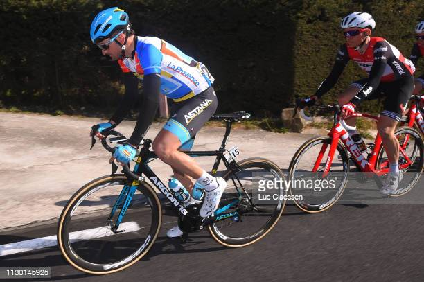 Gorka Izaguirre of Spain and Astana Pro Team Leader Jersey / during the 4th Tour de La Provence 2019 Stage 3 a 1858km race from Aubagne to Le...