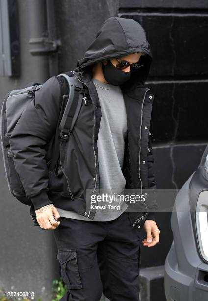 Gorka Marquez seen arriving for Strictly Come Dancing 2020 rehearsals on November 24, 2020 in London, England.
