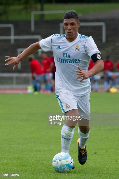 Gorka Zabarte Moreno of Real Madrid controls the ball during the EMKA RUHRCup International match between FC Bayern Muenchen U19 and Real Madrid U19...