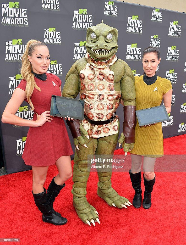 2013 MTV Movie Awards - Red Carpet : News Photo