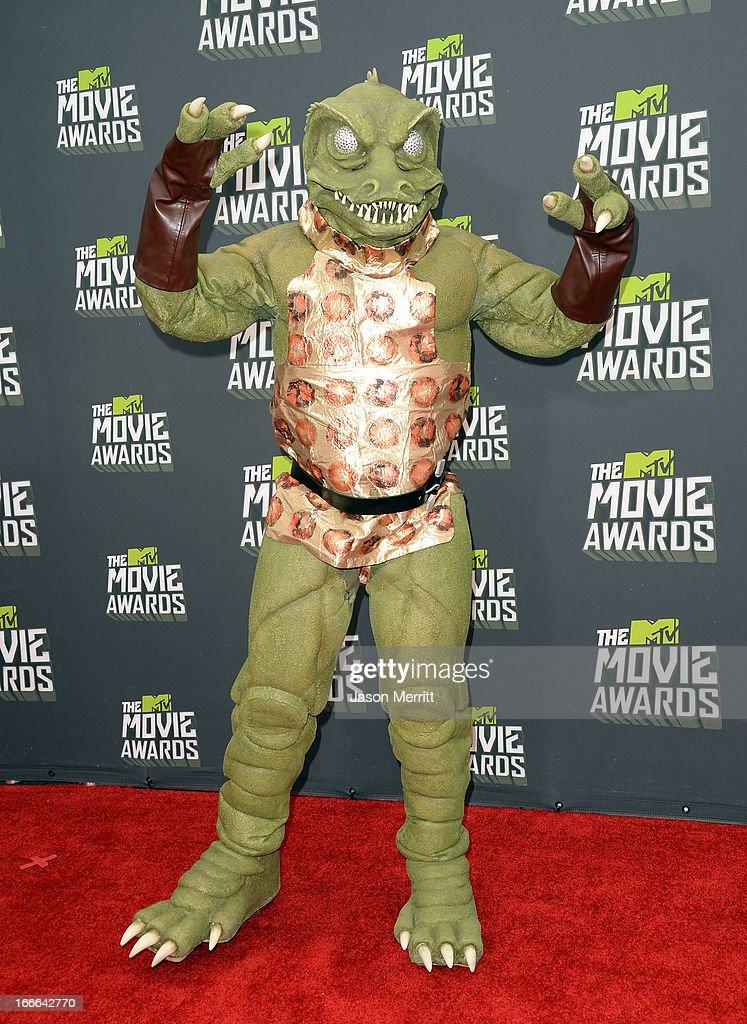 2013 MTV Movie Awards - Arrivals : ニュース写真