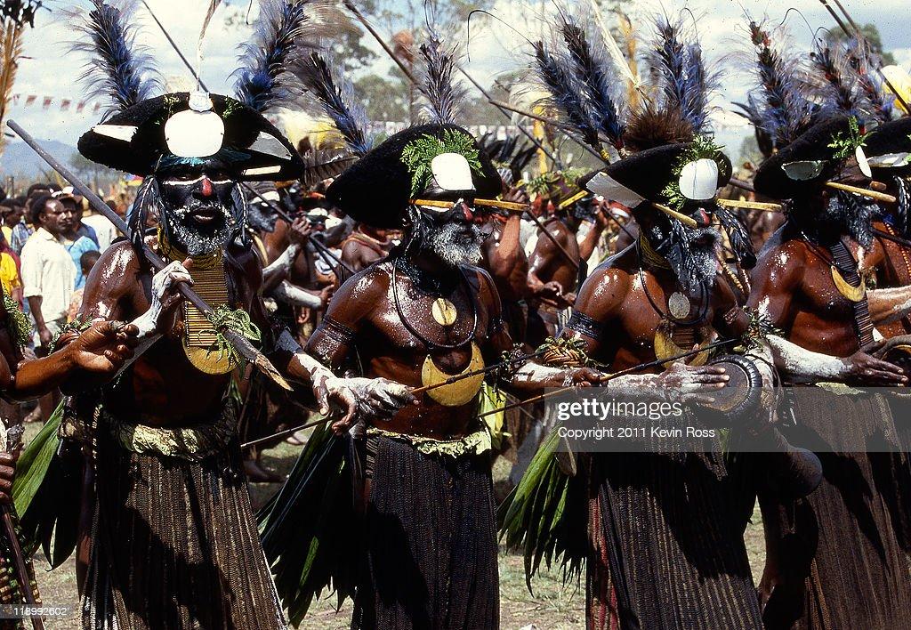 Goroka Festival, Papua New Guinea : Stock Photo