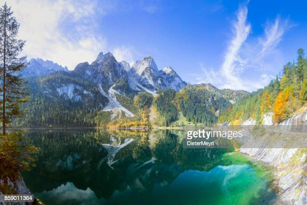 gosausee - nature reserve austria - austria stock pictures, royalty-free photos & images