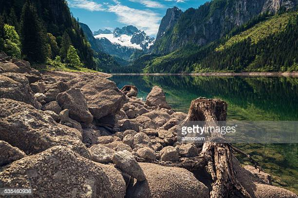 gosausee with dachstein view