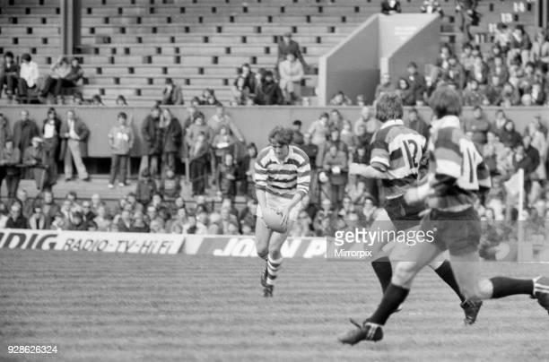 Gosforth 2711 Waterloo Rugby Union John Player Cup final match at Twickenham Stadium Saturday 10th April 1977