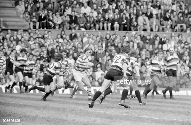 Gosforth 27-11 Waterloo, Rugby Union, John Player Cup final match at Twickenham Stadium, Saturday 10th April 1977.