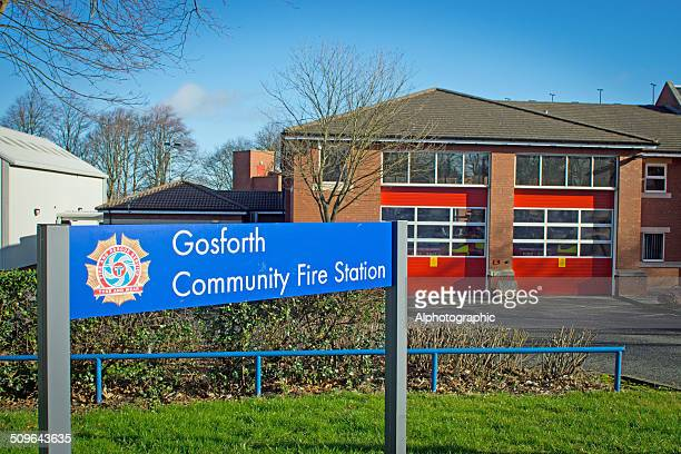 gosforth fire station - tyne and wear stock pictures, royalty-free photos & images