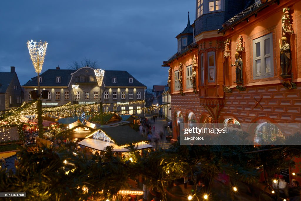Goslar Weihnachtsmarkt.Goslar Weihnachtsmarkt Stock Foto Getty Images