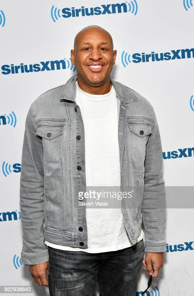 Gospel and contemporary Christian music singer Brian Courtney Wilson visits SiriusXM Studios on March 16 2018 in New York City