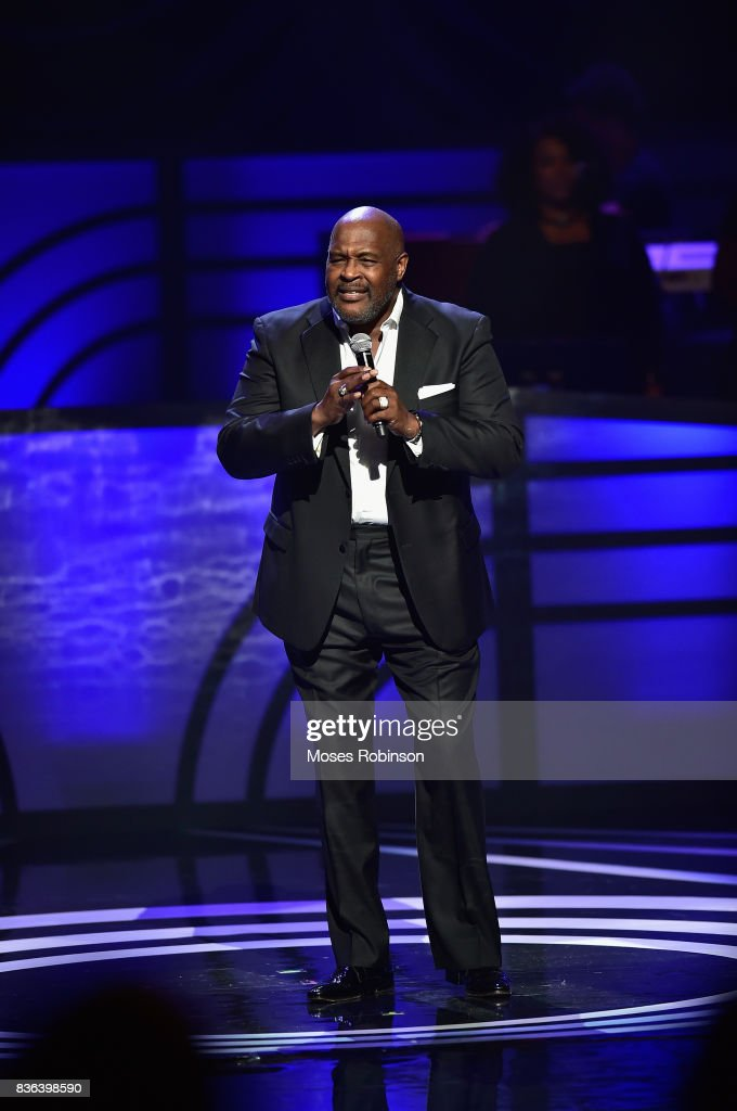 Gospel Recording Artist Marvin Winans performs onstage at the 2017 Black Music Honors at Tennessee Performing Arts Center on August 18, 2017 in Nashville, Tennessee.