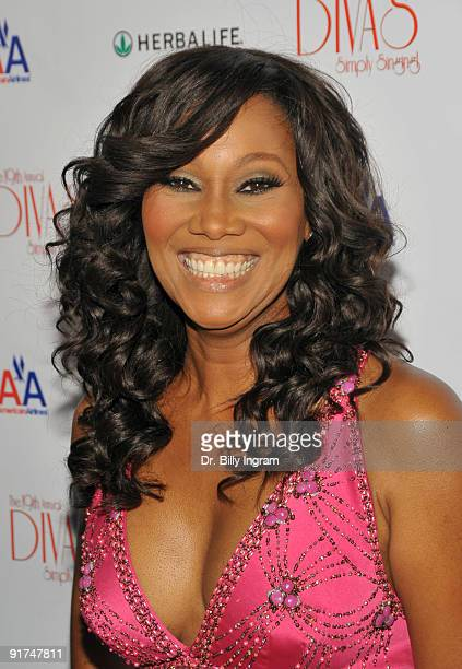 Gospel recording artist Yolanda Adams arrives at the 19th Annual 'Divas Simply Singing' AIDS Benefit Concert at the Saban Theatre on October 10 2009...