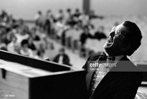 Gospel singer Hovie Lister performs with The Statesmen in Florence Alabama on March 11 1979
