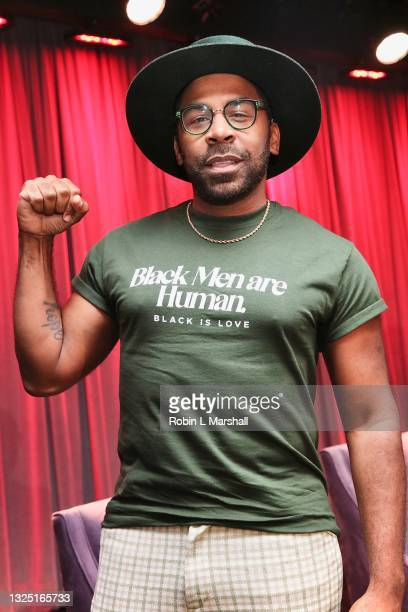 """Gospel Singer Major attends the Grammy Museum & Musicare """"Truth Serum"""" Screening and Panel Discussion at The GRAMMY Museum on June 23, 2021 in Los..."""