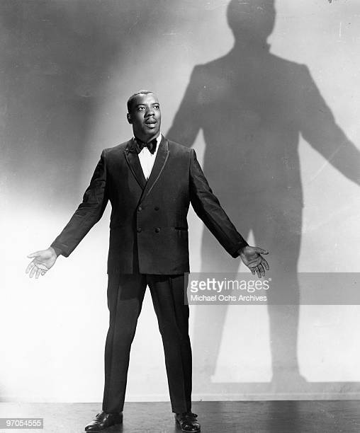 Gospel singer Reverend James Cleveland poses for a portrait in circa 1960
