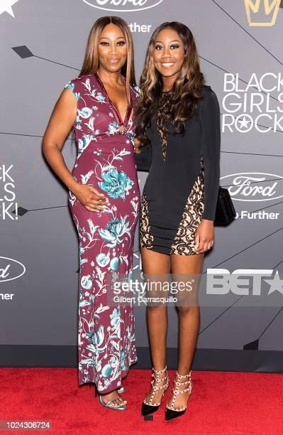 Gospel singer Yolanda Adams and daughter Taylor Ayanna Crawford attend 2018 Black Girls Rock at New Jersey Performing Arts Center on August 26 2018...