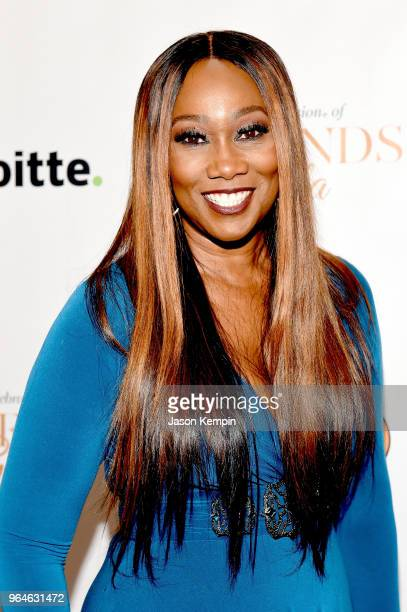 Gospel singer Yolanda Adams attends NMAAM Celebration of Legends Gala on May 31 2018 in Nashville Tennessee