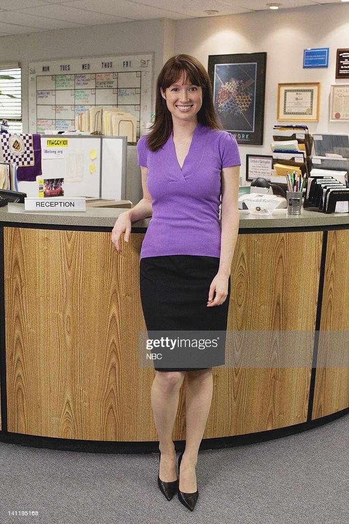 The Office Gossip Episode 601 Pictured Ellie Kemper