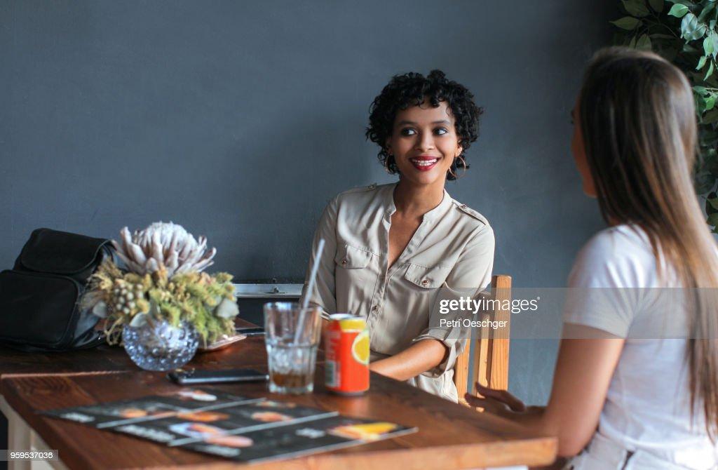 Gossip Girls. : Stock Photo