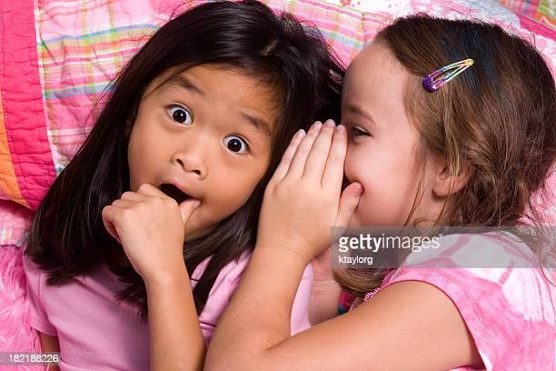 Gossiping Little Girls
