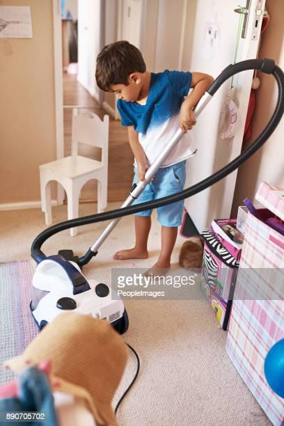 Um sicherzustellen, habe Vakuum ich überall