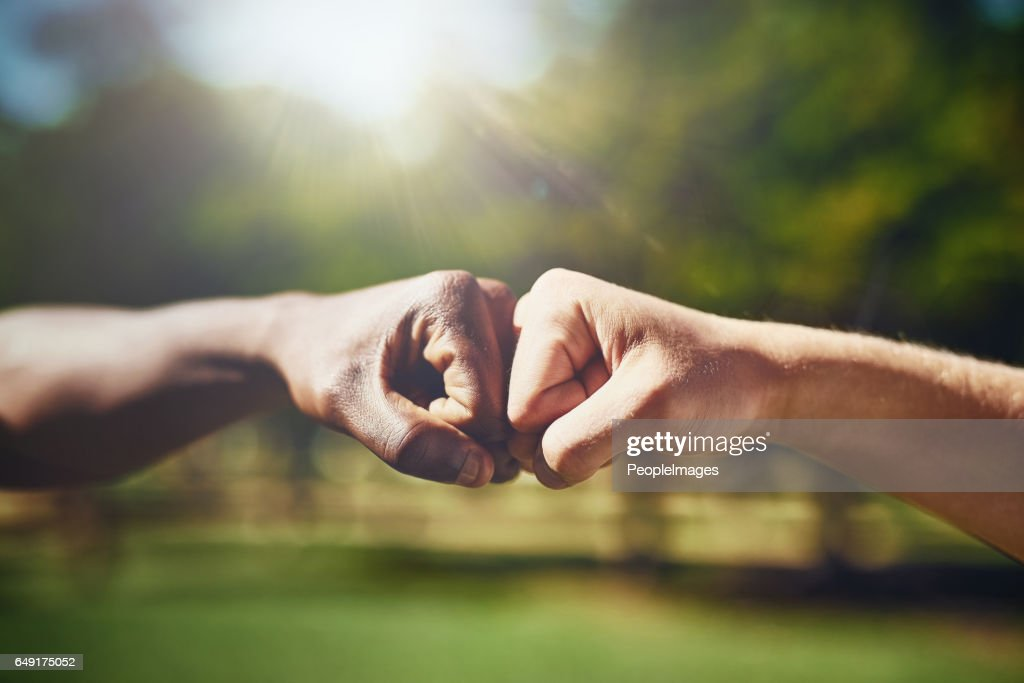 I got you, bro : Stock Photo