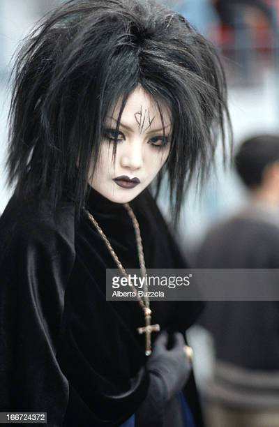 A goth girl at a 'Cosplay' 'Cosplay' or 'Costume Play' is a Japanese subculture and hobby where participants have fun by dressing up as their...