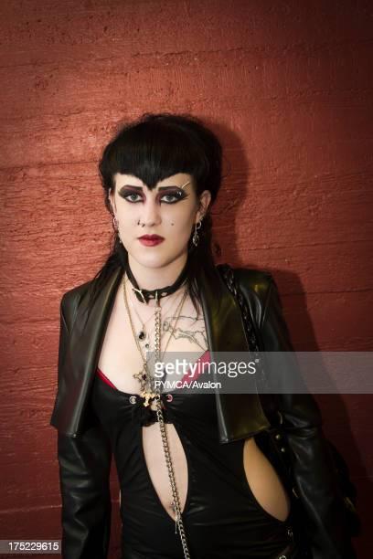 Goth girl with jewellery Helsinki Finland 2010