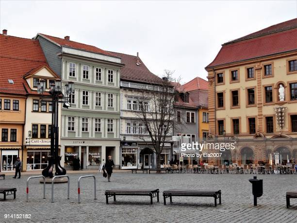 Gotha is an old town, with impressive houses lining the Market Square.