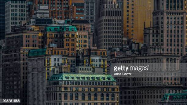 nyc, gotham darkness - 2 - gotham stock photos and pictures