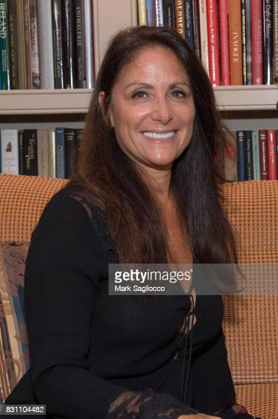 Gotham Magazine Publisher Lynn Scotti attends Hamptons Magazine's Private Dinner Celebrating East Hampton Library Authors Nighton August 12 2017 in...