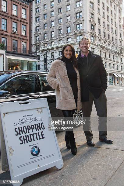 Gotham Magazine Publisher Lynn Scotti Kassar and Jeff Hultman celebrate The 30th Anniversary of Miracle on Madison Avenue on December 3 2016 in New...