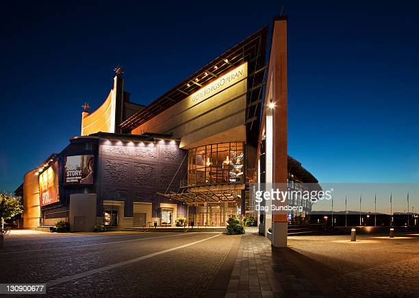 gothenburg opera house - gothenburg stock pictures, royalty-free photos & images