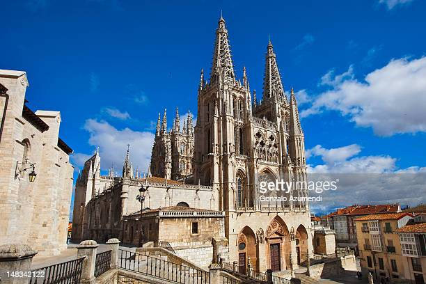 Gothic architecture in Burgos City.
