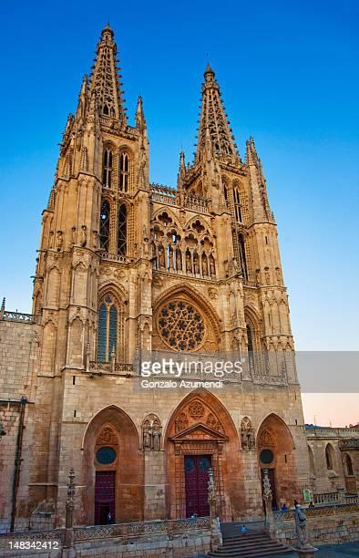 Gothic architecture in Burgos City.