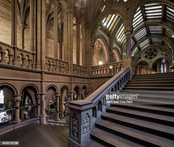 gothic interior - town hall stock photos and pictures