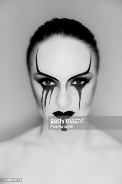 gothic - modelo vivo imagens e fotografias de stock