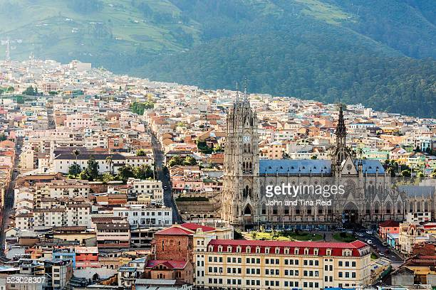 gothic quito - ecuador stock pictures, royalty-free photos & images
