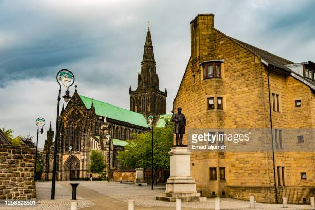 gothic revival architecture - strathclyde stock pictures, royalty-free photos & images