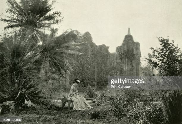 Gothic Ruin in Barrackpore Garden circa 1870' From British Government in India Volume Two by Lord Curzon of Kedleston [Cassell and Company Ltd London...