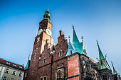 gothic style old town hall old