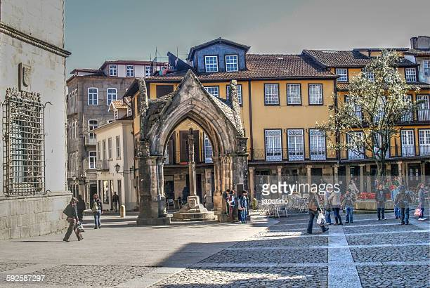 Gothic temple in Guimaraes